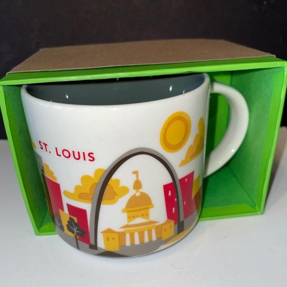 Starbucks St. Louis You Are Here Mug BNIB